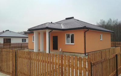 Закончено строительство дома Ц90М!
